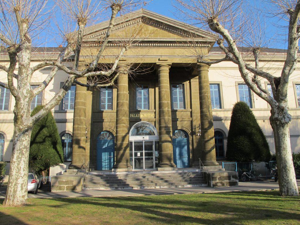 Le tribunal de Grande Instance du Puy-En-Velay - Haute-Loire - 43